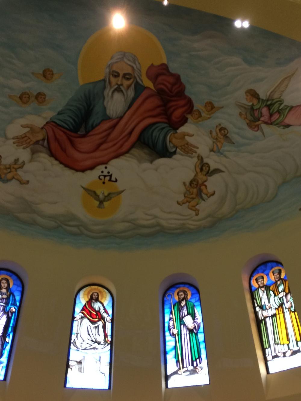 Chaldean ceiling.JPG