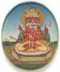 L0043627 Brahma, the creator of the universe