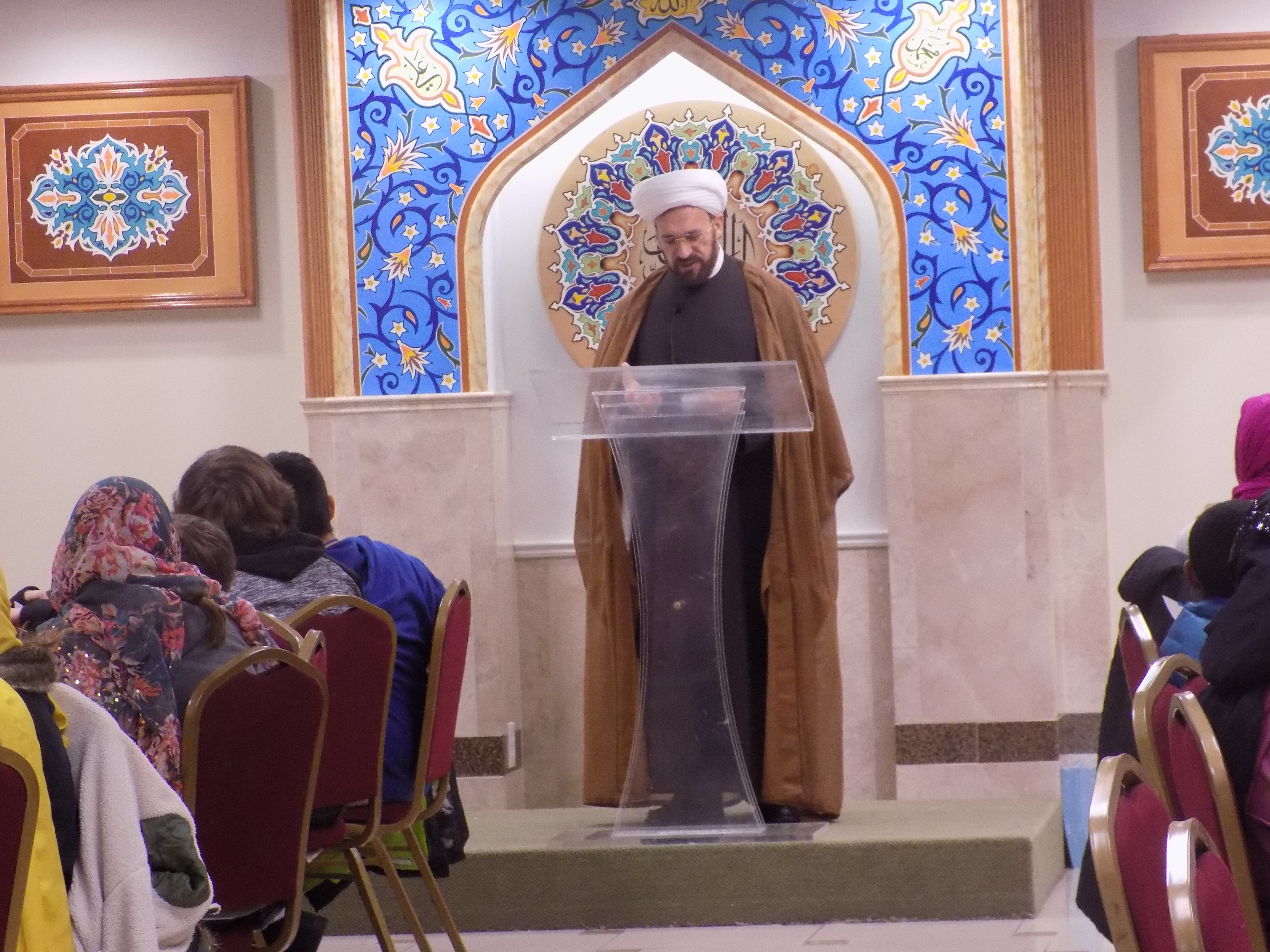 Religious Diversity Journeys Visits Islamic House of Wisdom The